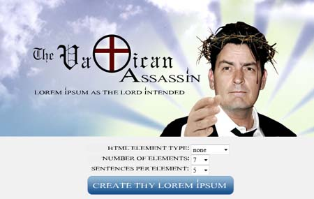Vatican Assassin - Charlie Sheen